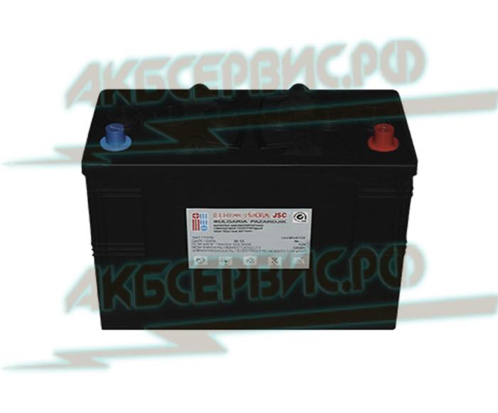 Акбсервис.РФ | 3PZS120 ISCRA - моноблочный тяговый аккумулятор, с панцирными пластинами. 12В/120А.