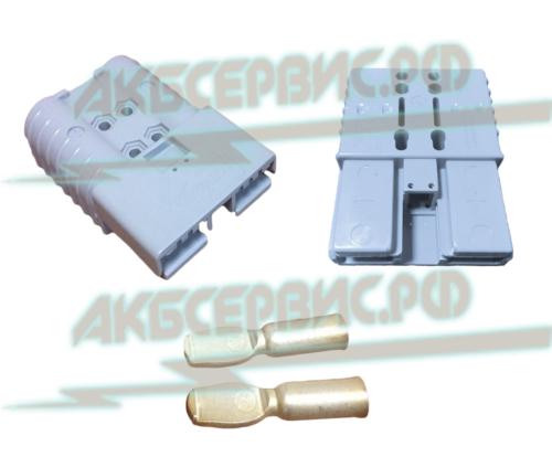 Акбсервис.РФ | Соединительный разъем REMA SRX350 (Серый).